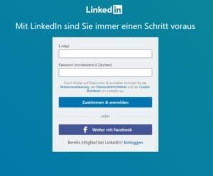 LinkedIn Profil erstellen