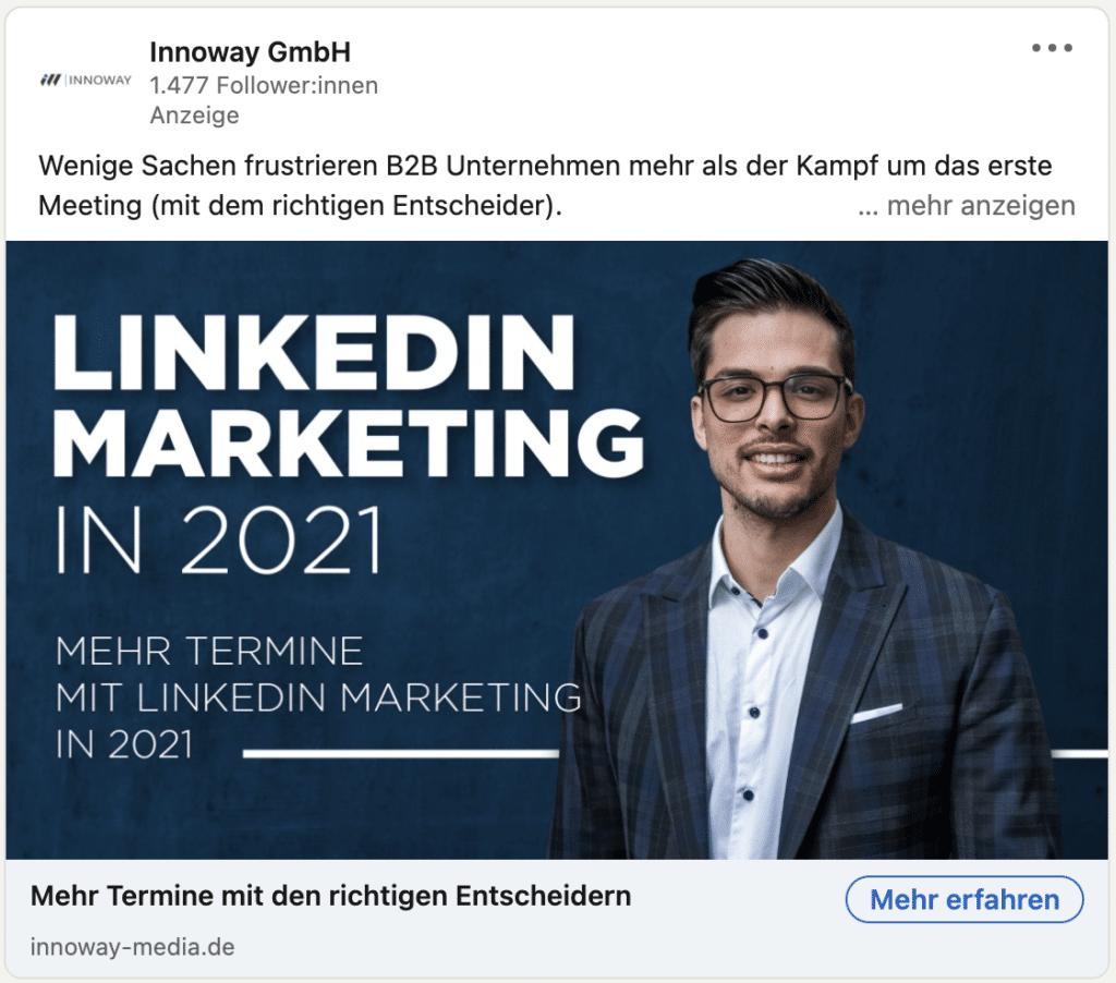 LinkedIn Ads - Sponsored Content