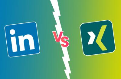 LinkedIn vs Xing - Vergleich von B2B Plattformen