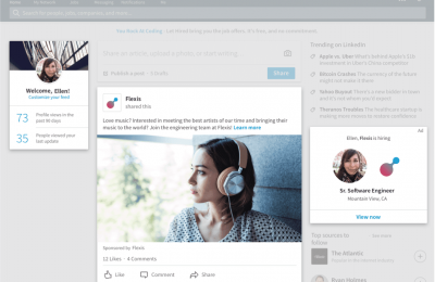 LinkedIn Ads - Single Job ad